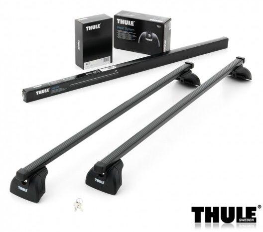Příčníky Thule 753 + 761 + KIT 3xxx