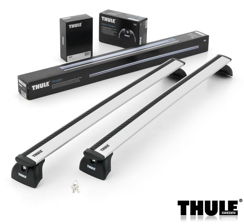 Příčníky Thule 753 + 961 + KIT 3xxx