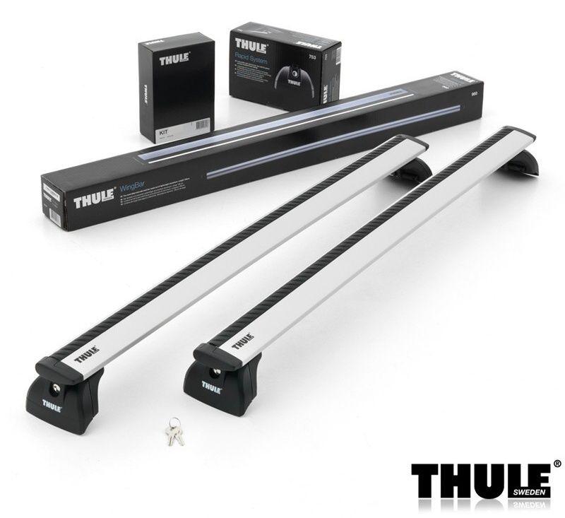 Příčníky Thule 753 + 969 + KIT 3xxx