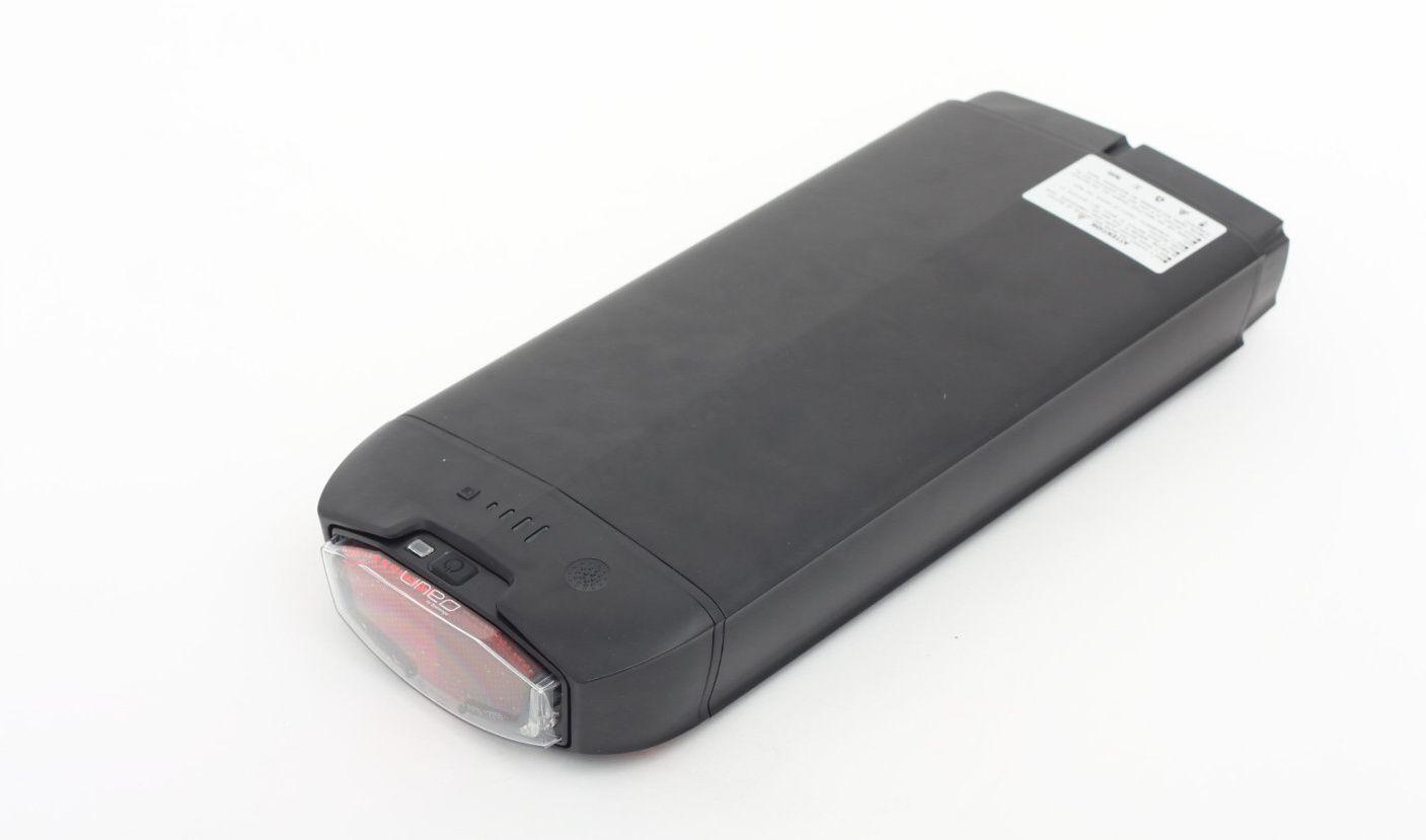 Nosičová baterie DLG Flame 15Ah, 36V černá